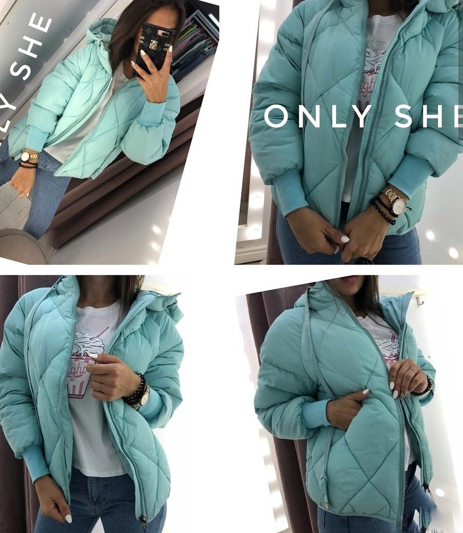 Женская модная теплая куртка  ЛЯ7257