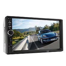 """Автомагнитола 7018B 12V 2 DIN MP5 экран 7 """" TFT HD + Bluetooth"""