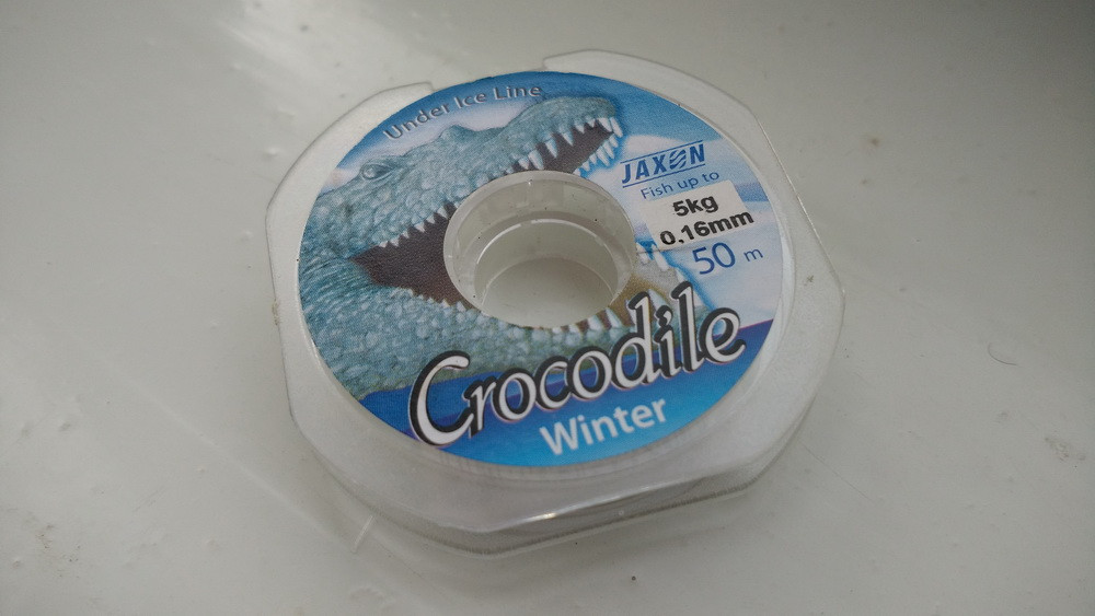 Волосінь зимова Jaxon Crocodile Winter 50м