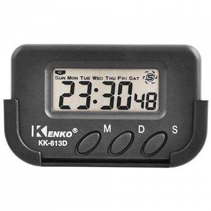 Автомобільні портативні годинник з секундоміром 613D, фото 2
