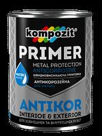 Грунтовка для металу ANTIKOR Kompozit, 3,5 кг