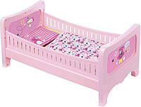 Кроватка с для пупса Baby Born - Сладкие сны (с постельным набором), Zapf Creation 3+ (824399)
