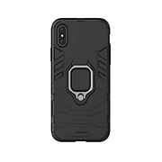Протиударний чохол Armor Ring для Samsung A8+ Plus / A730 Black