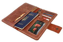 Кошелек мужской купюрник тревел-кейс travel портмоне картхолдер SULLIVAN