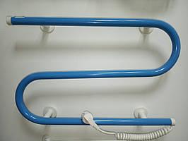 Полотенцесушитель 35 Вт 565х310х90 мм электрический стационарный РСС-3К голубой