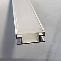 Напольный Светодиодный профиль NP-19 на 8мм с рассеивателем, фото 1