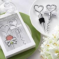 Подарки гостям на свадьбе в виде штопора и заглушки для бутылки