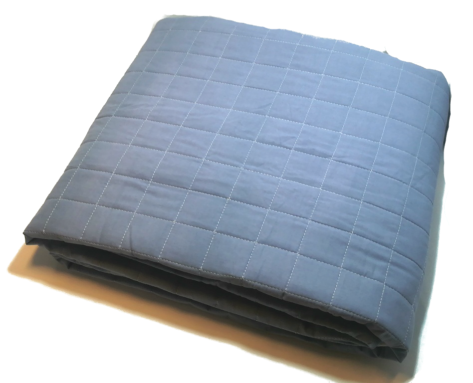 Стеганое покрывало на двуспальную кровать 210*220, Турция Голубой