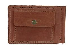 Кошелек мужской кожаный зажим для купюр SULLIVAN kmzdk6(5.5) светло-коричневый