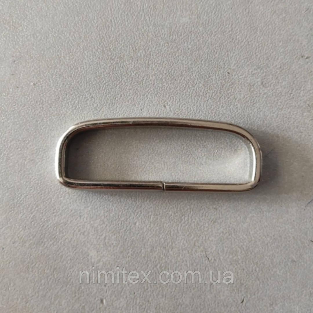 Рамка (тренчик) 40 мм никель