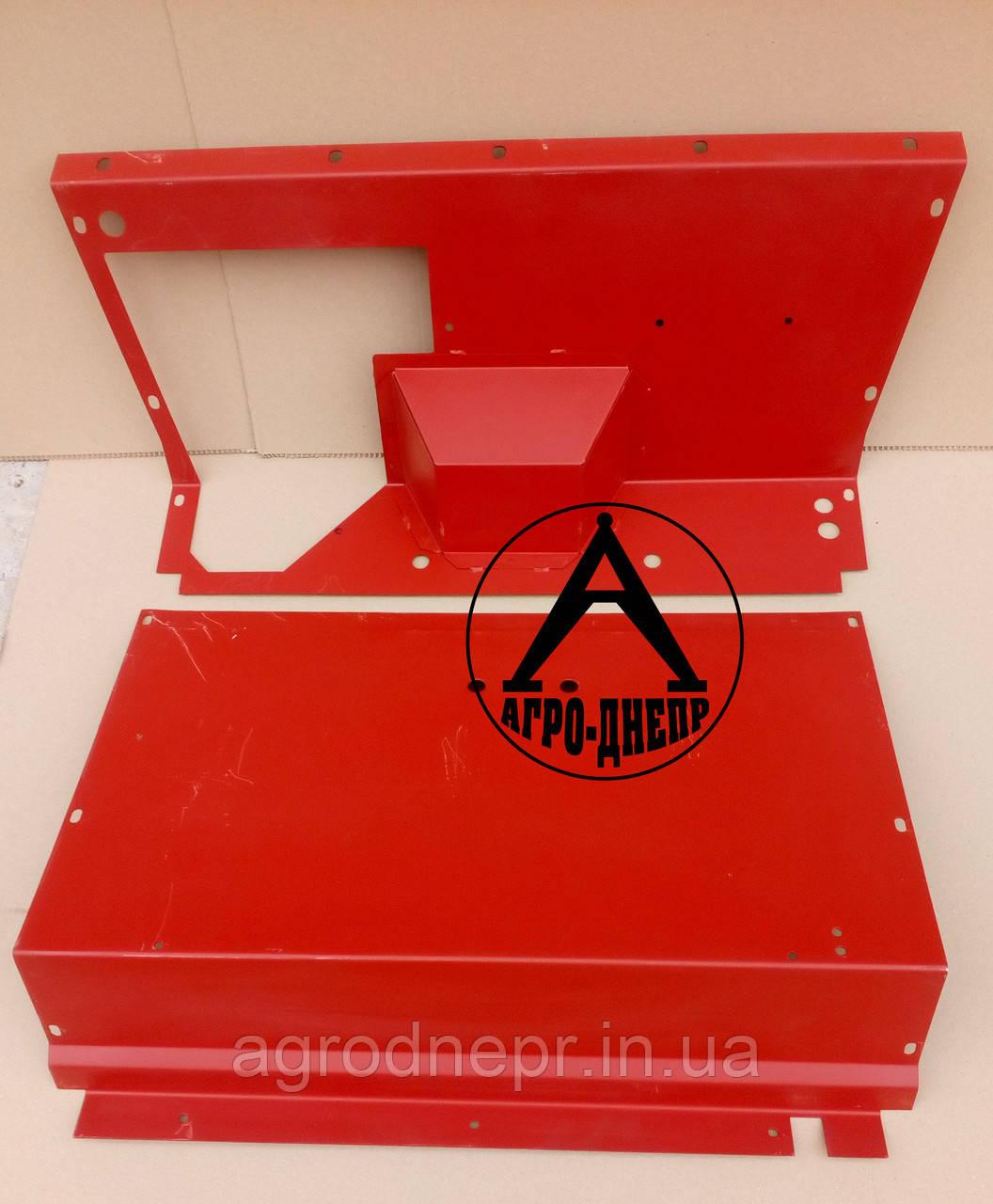 Лист защитный бака топливного ЮМЗ 45-8404210 Б и 45-8404200