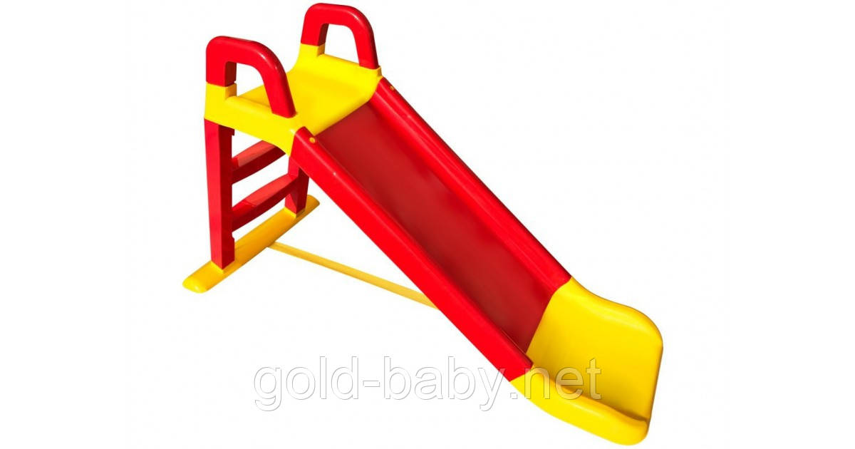 """Детская горка """"Фламинго"""" 0140/02, длинна спуска 140 см, красная, фото 1"""