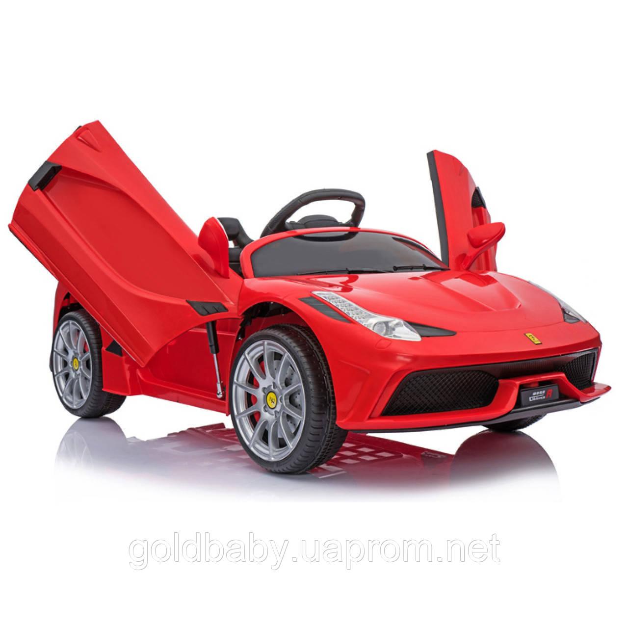 Детский электромобиль Ferrari 8858, красный, фото 1