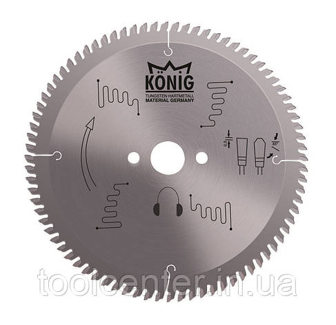 Пила для алюминия и ПВХ Konig 420x4,0x32 Z120, фото 2