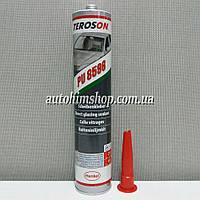 TEROSON PU-8596 Клей-герметик полиуретановый для вклейки стекол черный в гильзе (2 часа без, - 6 часов с подушкой безопасности) 310мл