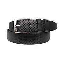 Ремень детский кожаный JK-3020 black (3 см)
