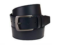 Ремень мужской кожаный джинсовый одна строчка SULLIVAN  RMK-71(7.5) 115-150 см синий