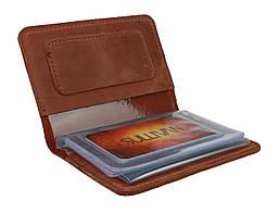 Обложка для водительских документов прав удостоверений SULLIVAN odd5(5) светло-коричневая