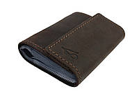 Визитница карточница карт-холдер SULLIVAN v9(5) коричневая, фото 1