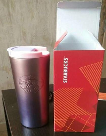 Термокружка Starbucks Embossed Siren с двойной стенкой 355 мл