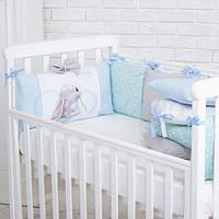 Бортики в детскую кроватку Akvarel Одуванчик ТМ «Маленькая Соня»