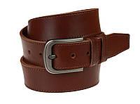 Ремень мужской кожаный джинсовый одна строчка SULLIVAN  RMK-92(8.5) 115-150 см светло-коричневый