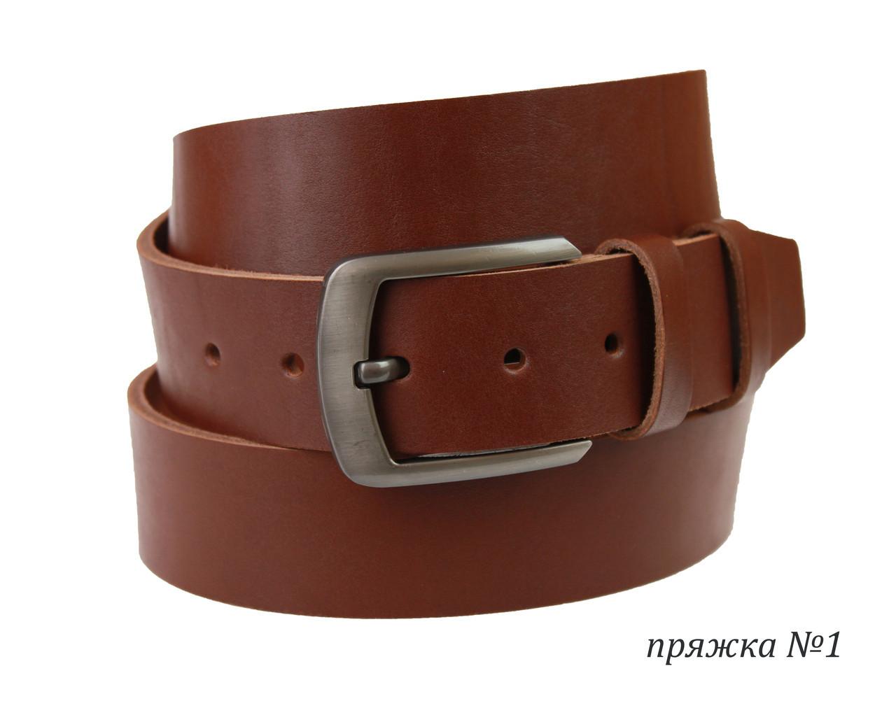Ремень мужской кожаный джинсовый SULLIVAN  RMK-111(8) 115-150 см светло-коричневый