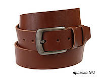 Ремень мужской кожаный джинсовый SULLIVAN  RMK-111(8) 115-150 см светло-коричневый, фото 1