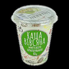 Каша ИЛНА Овсянка с яблоком и сливками 60 гр, ящ/10шт