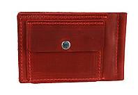 Кошелек женский кожаный зажим для купюр SULLIVAN kgzk3(5.5) красный, фото 1