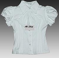 Красивая школьная блузка для девочки от Sasha
