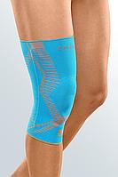 Бандаж на колено с силиконовым пателлярным кольцом Genumedi E+motion, 2