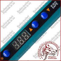 Паяльник HandsKit 919, с регул.температуры и LCD дисплеем, 90W, 160-480°C 13-0373-1