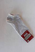 Носки короткие женские  классика серые 23-25