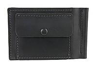 Кошелек мужской кожаный зажим для купюр SULLIVAN kmzdk4(5.5) черный, фото 1