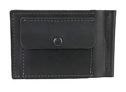 Кошелек мужской кожаный зажим для купюр SULLIVAN kmzdk4(5.5) черный