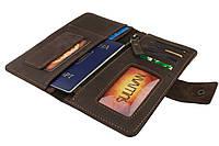 Кошелек мужской купюрник тревел-кейс travel портмоне картхолдер SULLIVAN, фото 1