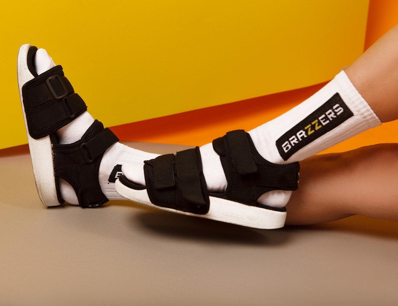 "Ароматизированные носки мужские с принтом ""Brazzers"" Premium"