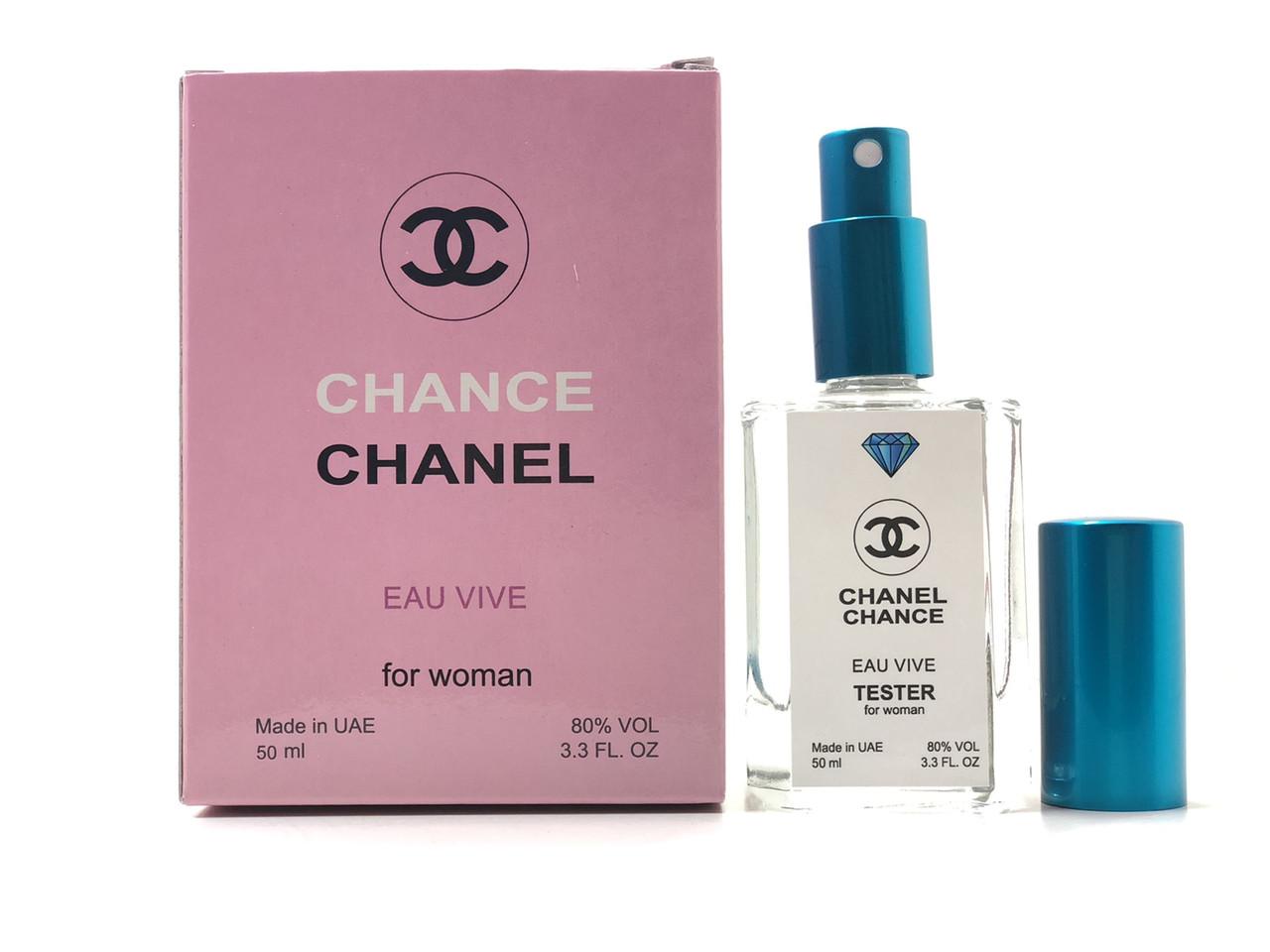 Парфюм Chanel Chance Eau Vive (Шанель Шанс Вив) 50 мл Diamond - реплика