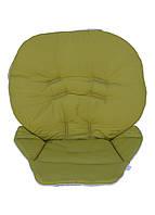 Чехол DavLu к стульчику для кормления Wonder Kids Зеленый (Ch-602), фото 1