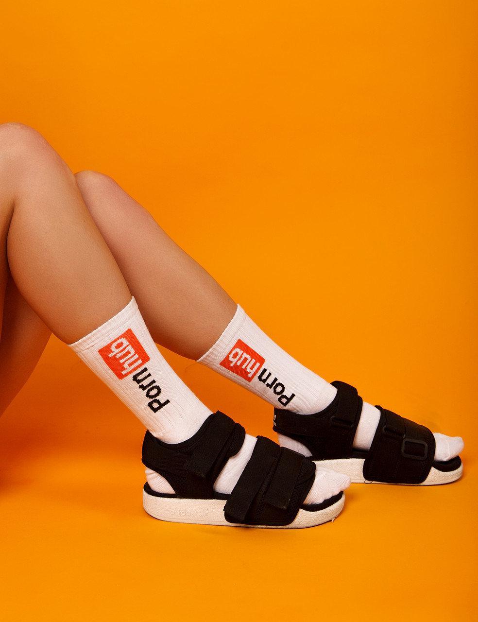 """Ароматизированные носки мужские с принтом """"Pornhub"""" Premium"""