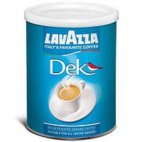 Кофе мол. Lavazza Dek 250г ЖБ