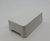 Корпус КДІ білий для електроніки 34х22х12, фото 1