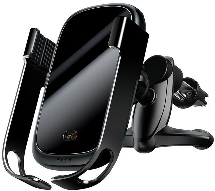 Автомобильный Держатель Телефона Baseus (WXHW01-01) QI 10W