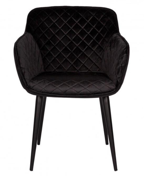 Кресло Bavaria (Бавария) текстиль черный