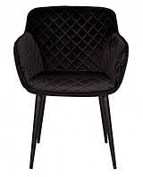 Кресло Bavaria (Бавария) текстиль черный, фото 1