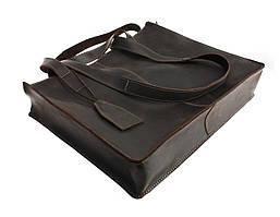 Сумка женская кожаная большая шопер SULLIVAN sg5(40) коричневая