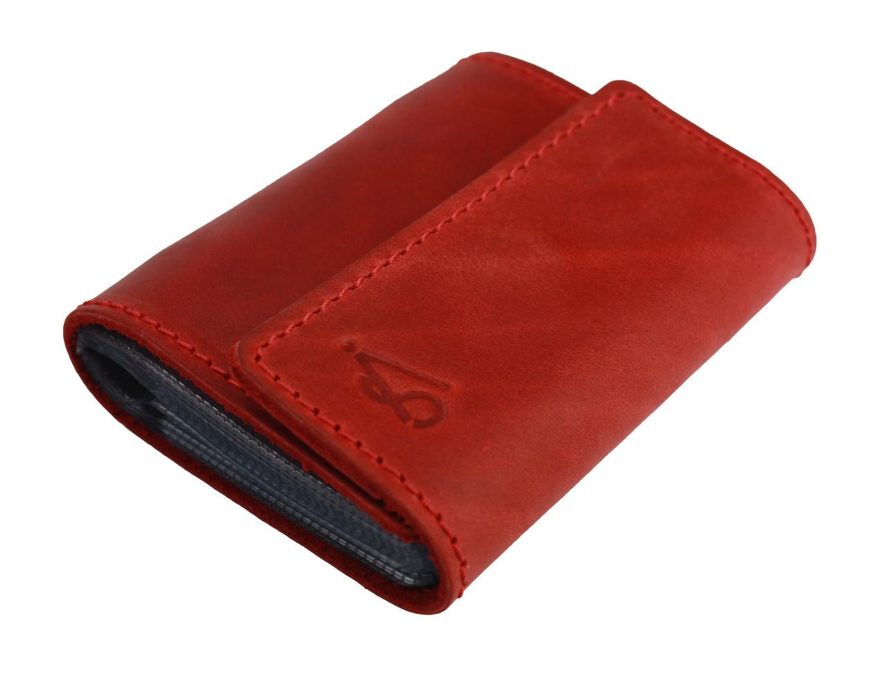 Визитница карточница карт-холдер SULLIVAN v1(5) красная