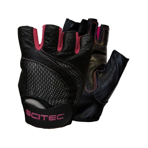 Перчатки Scitec Nutrition Pink Style (размер S)