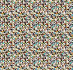 Ковролін флокіроване покриття Flotex Vision Image 000458 buttons